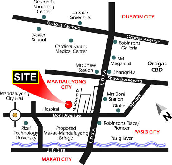 dansalan gardens location map