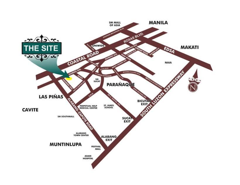 Maricielo Location Map